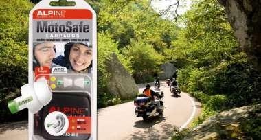 Špunty do uší ALPINE vítězí v testu Motorrad