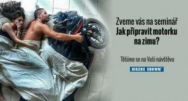Seminář pro veřejnost: Jak zazimovat motorku