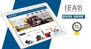 E-shop Bikers Crown získal 1. místo v soutěži IEA 2018