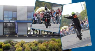 Stunt rideři na OPEN DAYS Ostrava