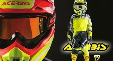 Druhá várka motokrosové kolekce Acerbis 2017 skladem!
