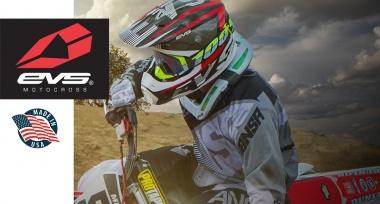Motokrosové helmy EVS 2017 skladem!
