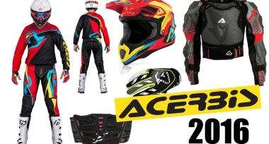 Nová motokrosová kolekce ACERBIS 2016 skladem!