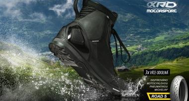 Revoluční motocyklové boty XRC s odolnou podrážkou Michelin