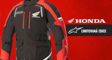 Doplněné sklady edicí Alpinestars Honda