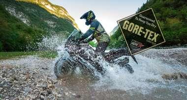 Pořiďte si funkční výbavu na motorku s technologií GORE-TEX®