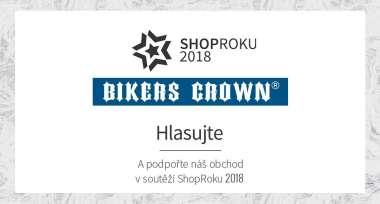 Podpořte Bikers Crown v soutěži ShopRoku 2018