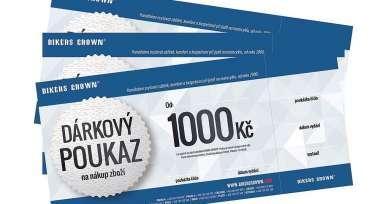 Prodloužení platnosti dárkových poukazů Bikers Crown