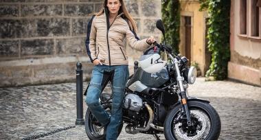 Trilobite Tuscan - elegantní dámská bunda na motorku
