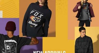 Nové volnočasové oblečení FOX skladem
